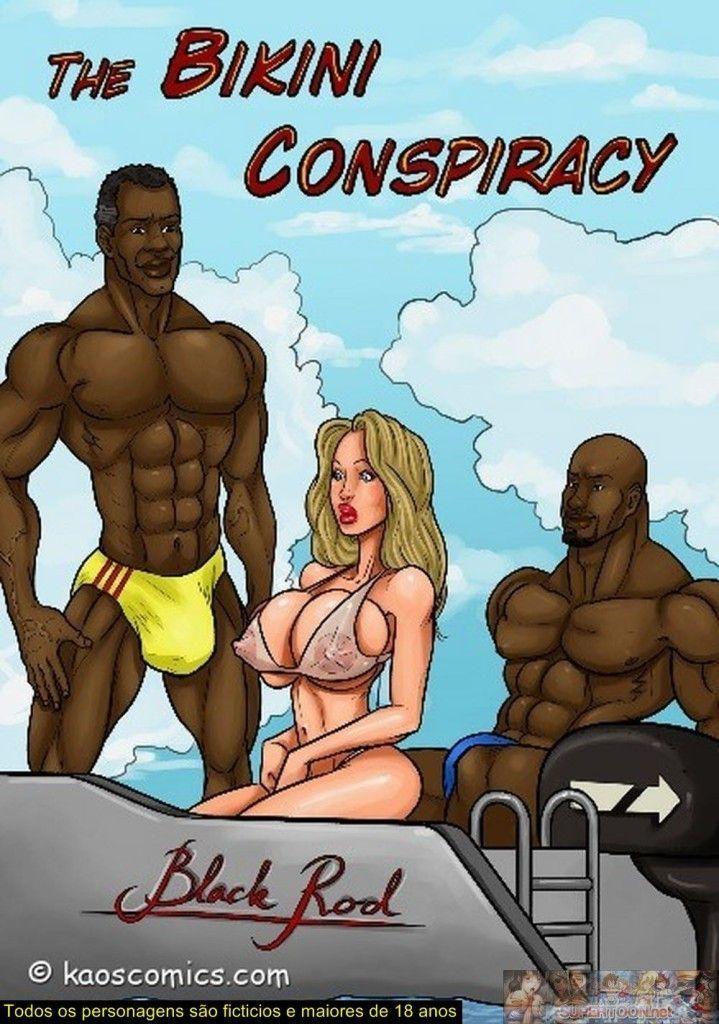 Conspiração do bikini parte um - Uma loira gostosa