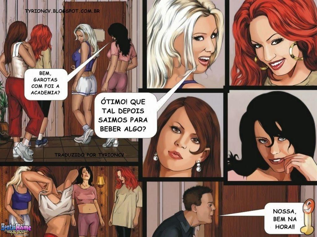 suruba na academia - hqs eroticas 001
