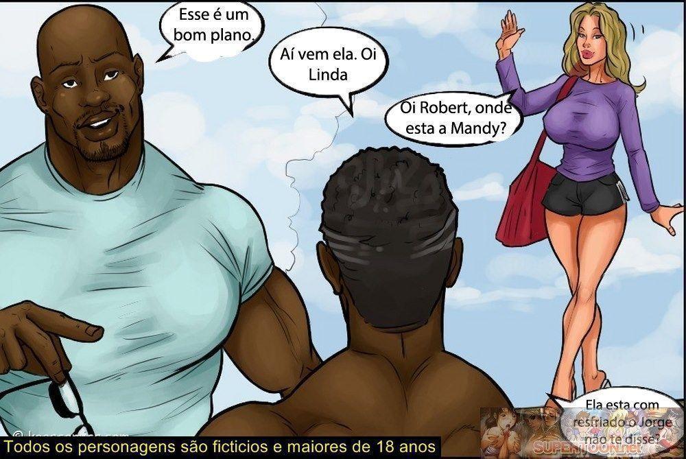 conspiração do bikini - quadrinhos eroticos interracial - 02150