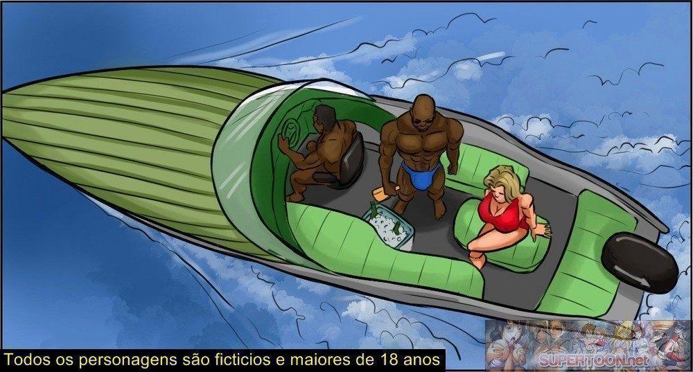 conspiração do bikini - quadrinhos eroticos interracial - 03220