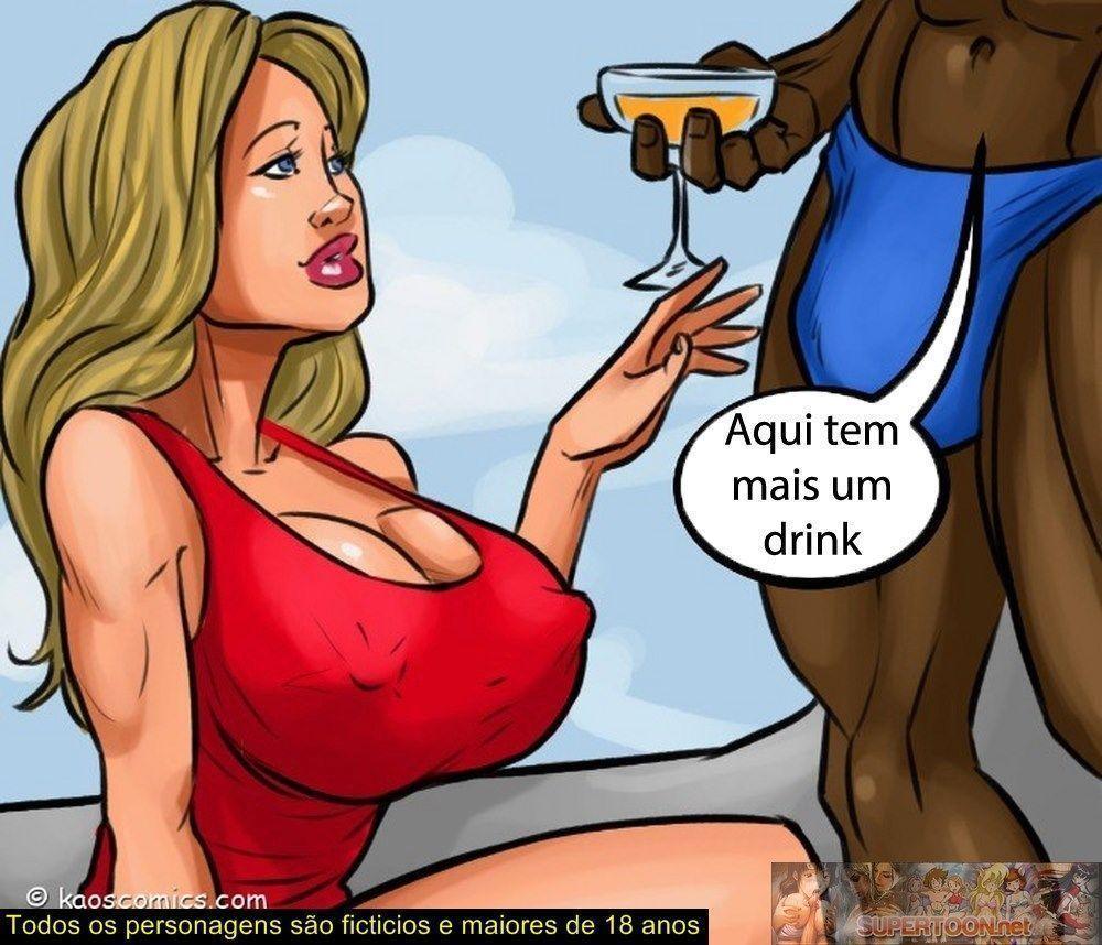 conspiração do bikini - quadrinhos eroticos interracial - 03320