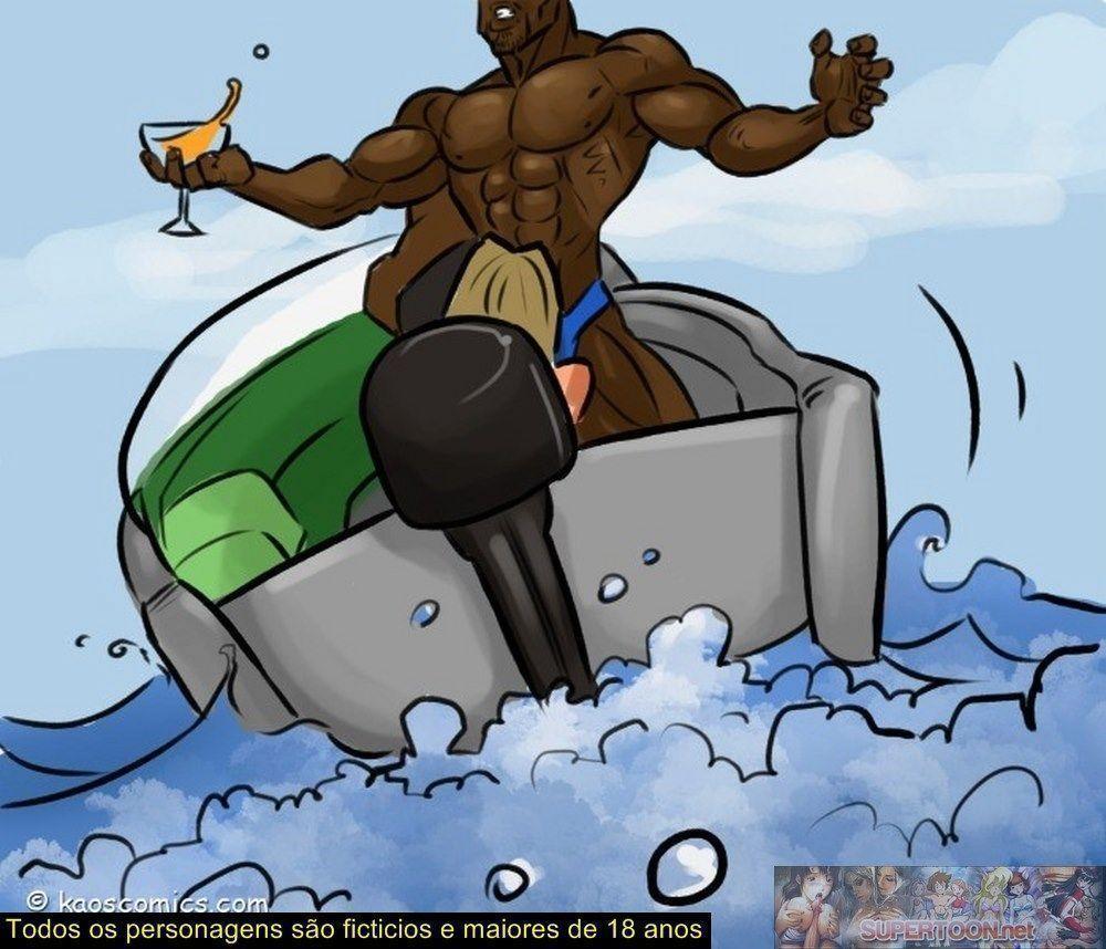 conspiração do bikini - quadrinhos eroticos interracial - 03420