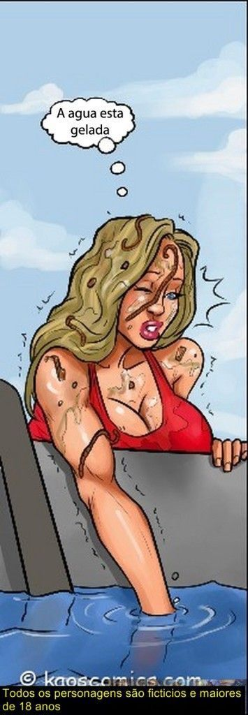 Conspiração do bikini - quadrinhos eróticos interracial0422