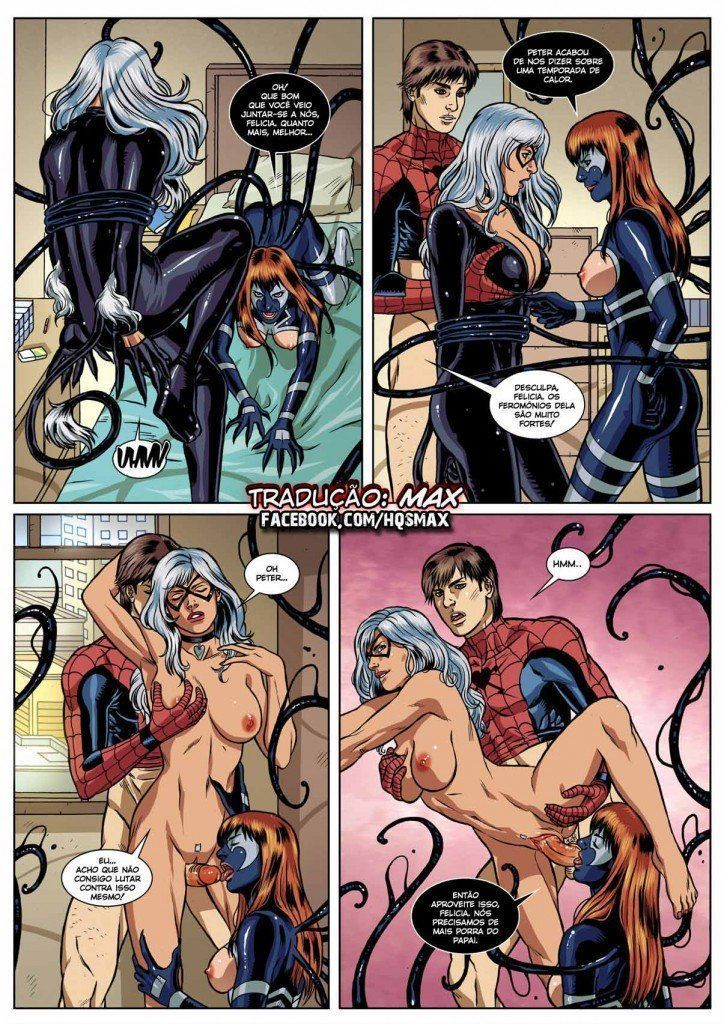 Spider Man Sexual Symbiosis (10)