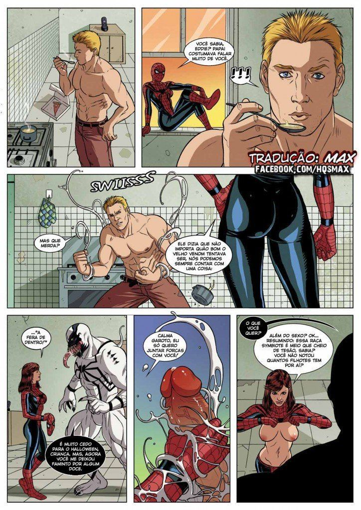 Spider Man Sexual Symbiosis (18)