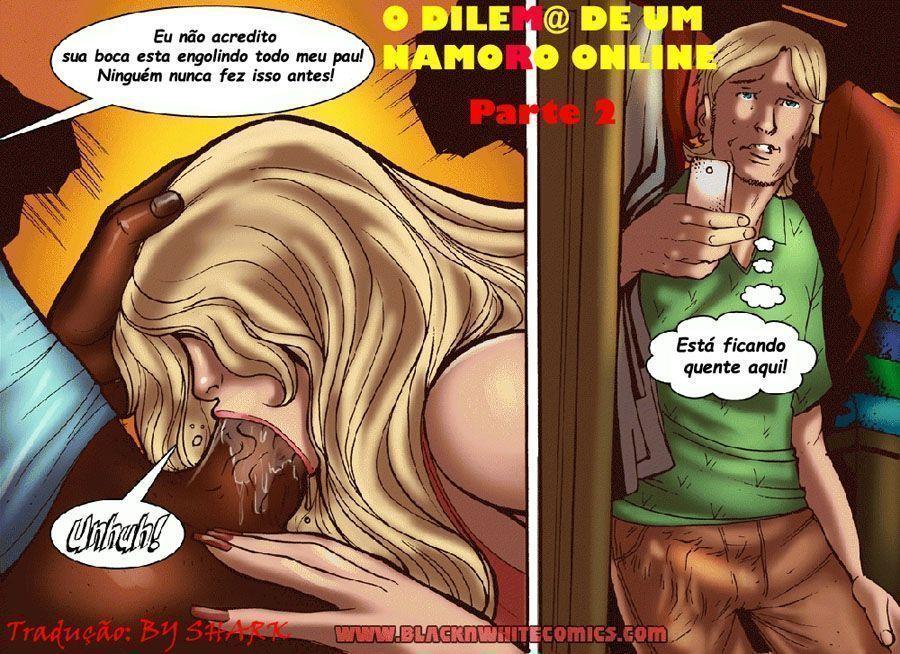 dilema de um namoro online - hqs interracial (17)