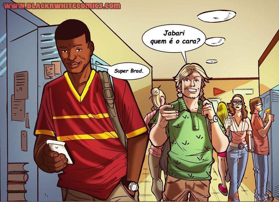 dilema de um namoro online - hqs interracial (2)