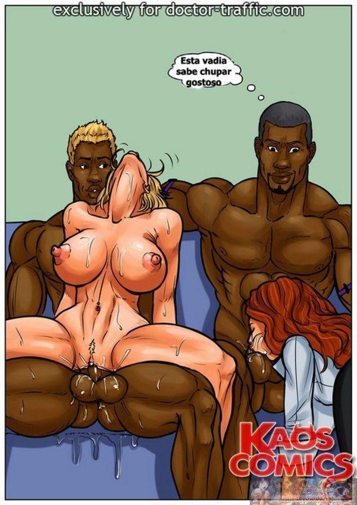 hqs porno - inter-racial girls of night parte 23-3