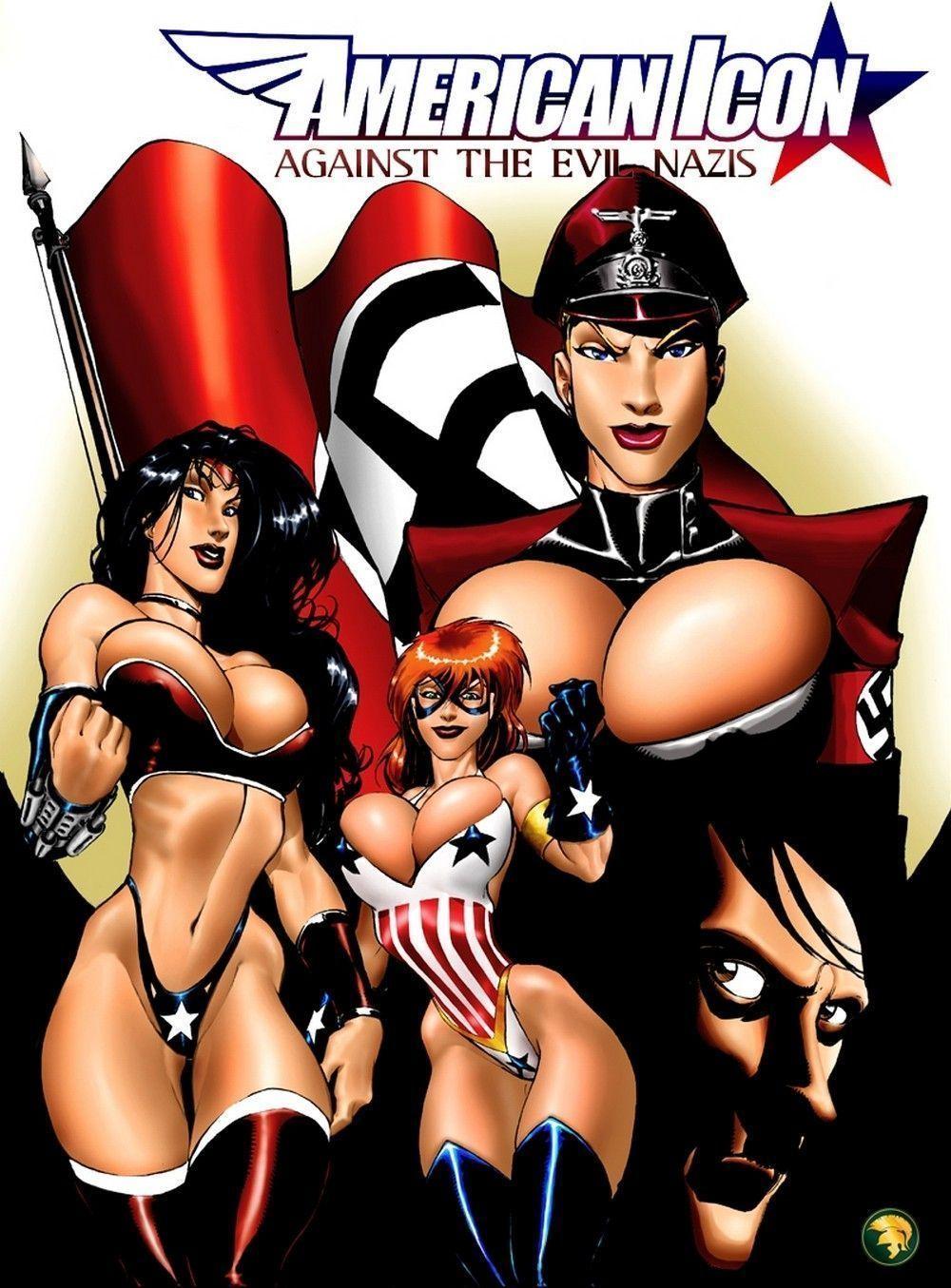 American icon - quadrinhos eroticos
