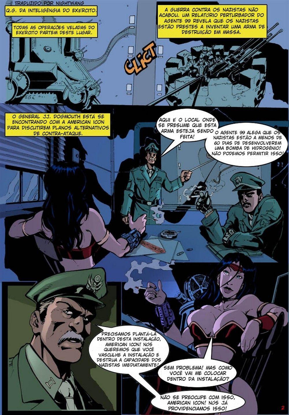 Icone americano - quadrinhos eróticos
