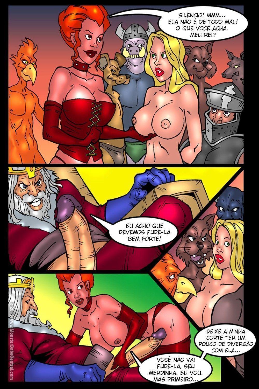 Alice in monsterland #7 #8 - quadrinhos eroticos