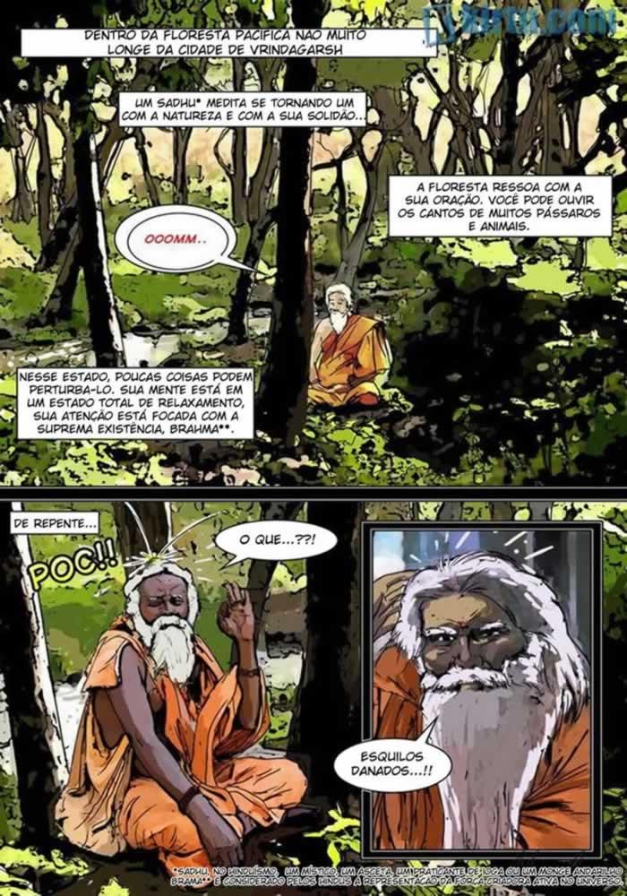 Kama e sutra 1 - quadrinhos eroticos