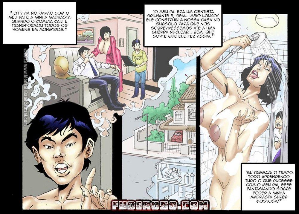 Contamination parte 4 - quadrinhos eroticos