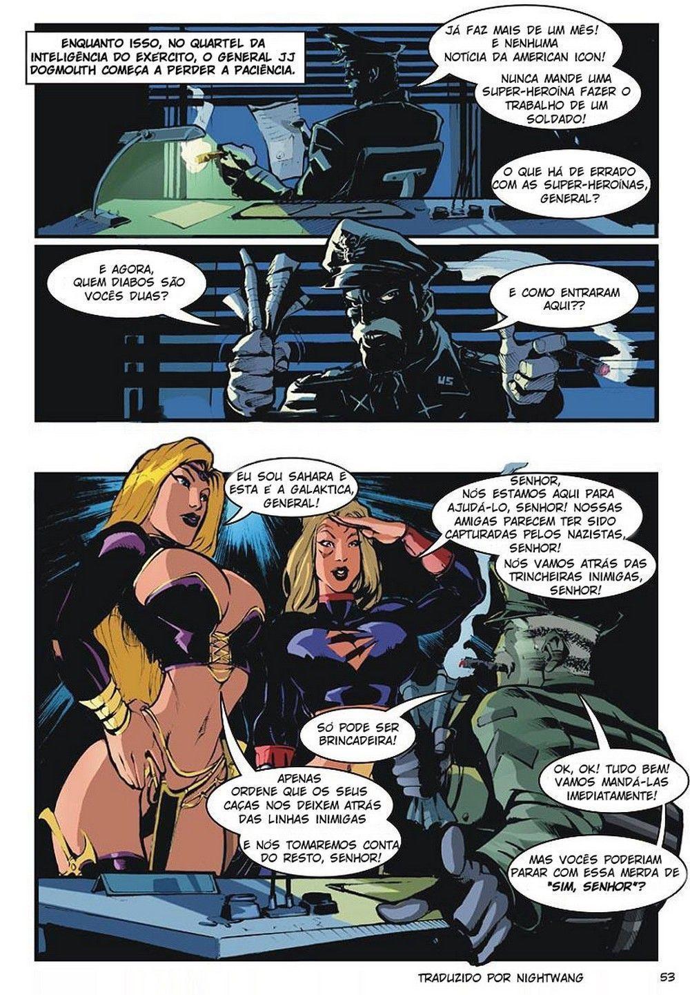Icone americano #3 - quadrinhos eróticos