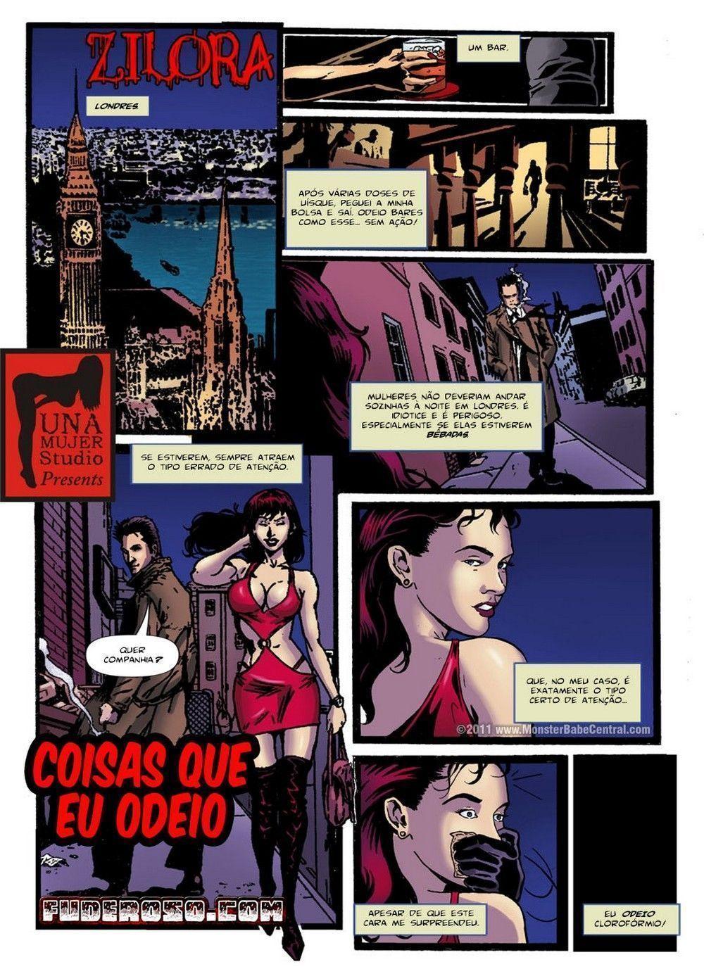 Zilora capitulo 4 - quadrinhos eroticos