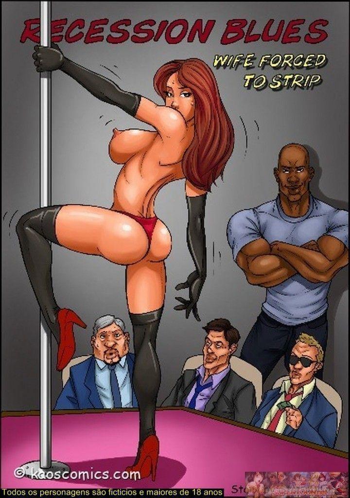 Recession blues - uma esposa no strip tease