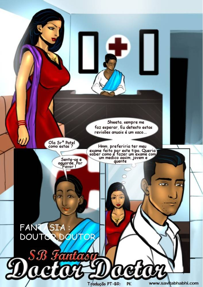 Savita bhabhi 7 - Transando com Ginecologista
