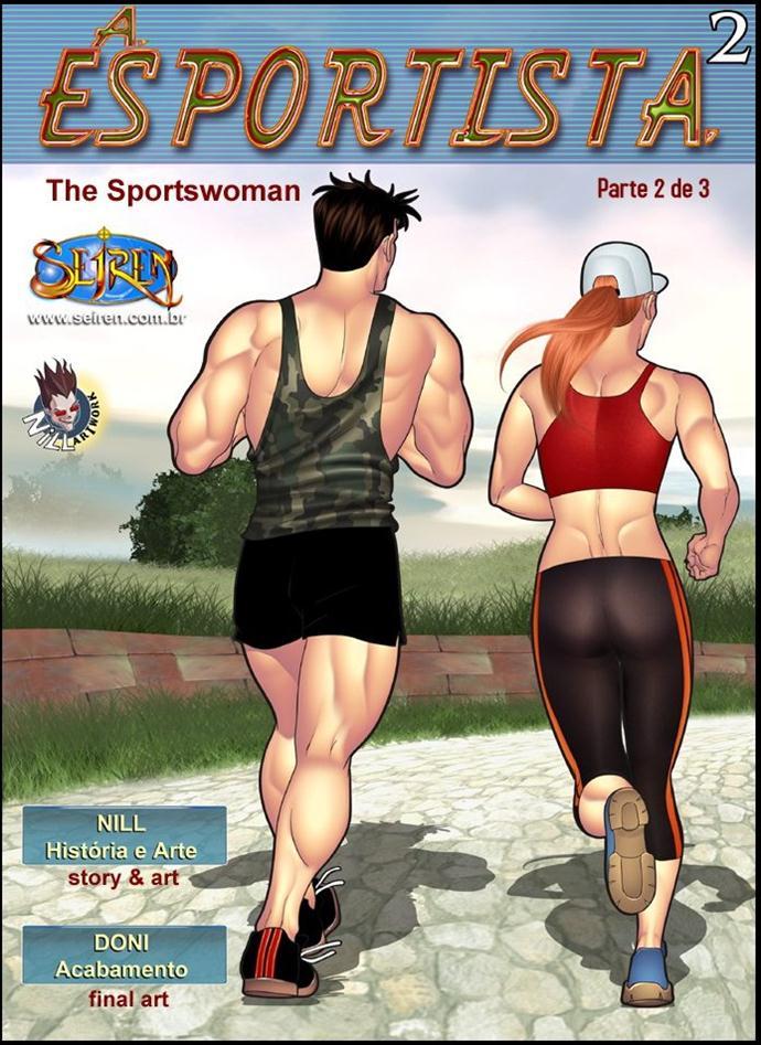 A esportista 2 parte 2 - sexo na praça