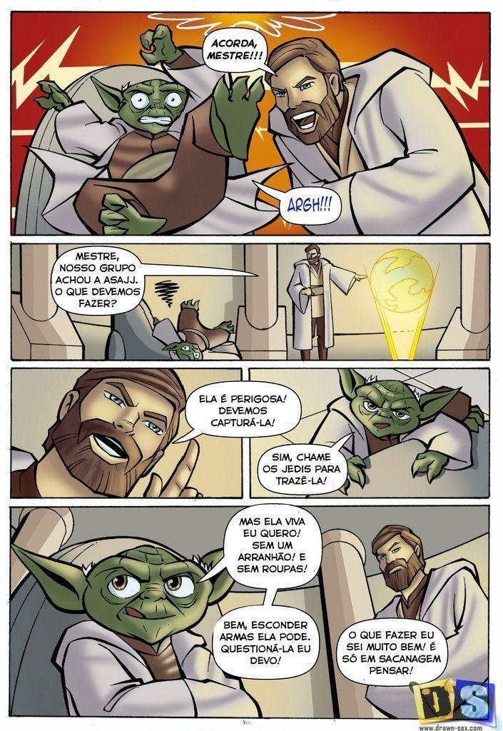 Mestre Yoda cacetudo fodendo gostosas