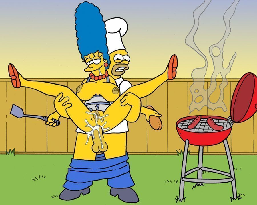 Simpsons sexo no churrasco